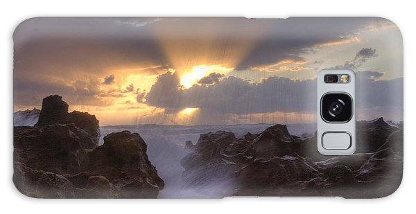 Morning Glory Galaxy Case by Darleen Stry