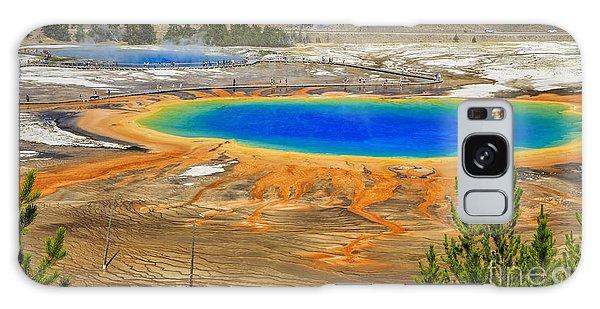 Grand Prismatic Geyser Yellowstone National Park Galaxy Case