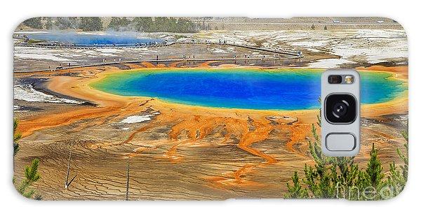 Yellowstone Galaxy Case - Grand Prismatic Geyser Yellowstone National Park by Edward Fielding