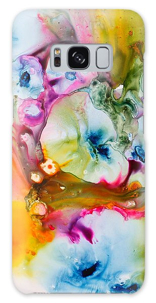 Morning Glory Galaxy Case by Nancy Jolley