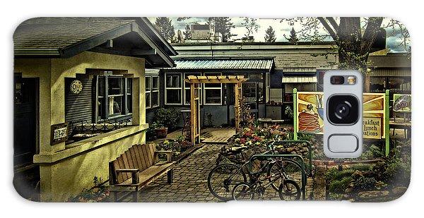 Morning Glory Cafe Ashland Galaxy Case by Thom Zehrfeld