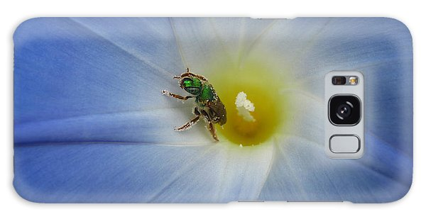 Morning Glory Visitor 1 Galaxy Case