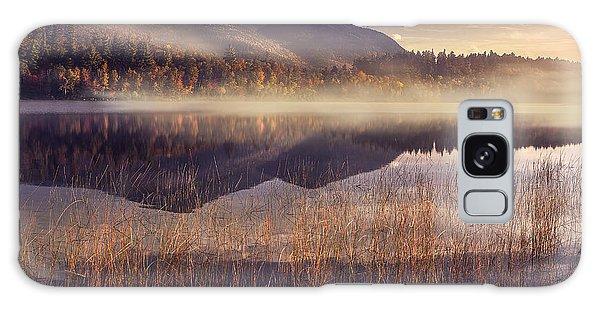 Fog Galaxy Case - Morning In Adirondacks by Magda  Bognar
