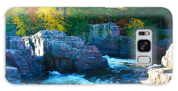 Morning In Eau Claire Dells Galaxy Case