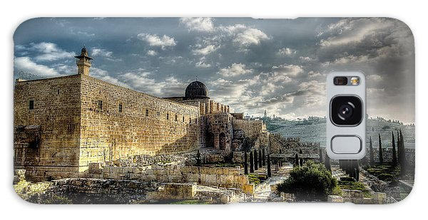 Morning In Jerusalem Hdr Galaxy Case