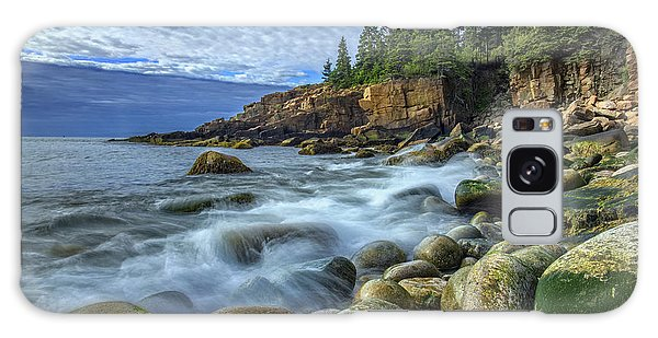 Otter Galaxy Case - Morning In Monument Cove by Rick Berk
