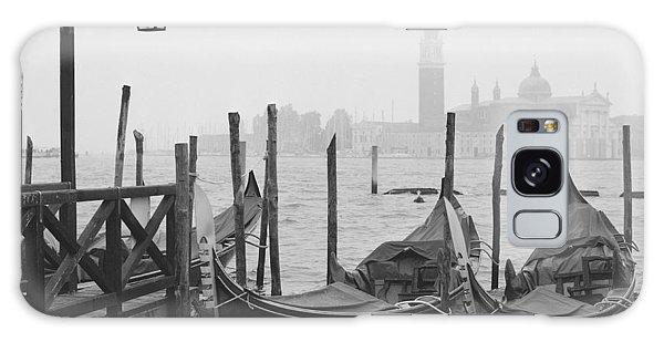 Pier Galaxy Case - Morning In Venice by Yuppidu