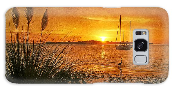 Morning Light - Florida Sunrise Galaxy Case by HH Photography of Florida