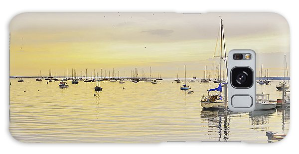 Morning Light Rockland Maine Galaxy Case