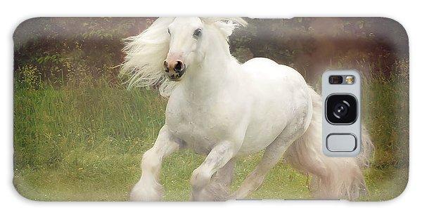 White Horse Galaxy Case - Morning Mist C by Fran J Scott