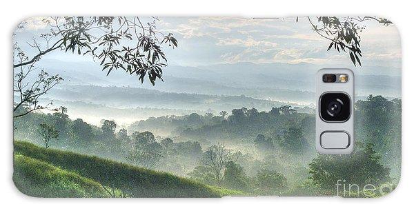 Morning Mist Galaxy Case by Heiko Koehrer-Wagner
