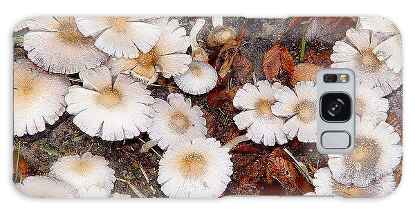 Morning Mushrooms Galaxy Case