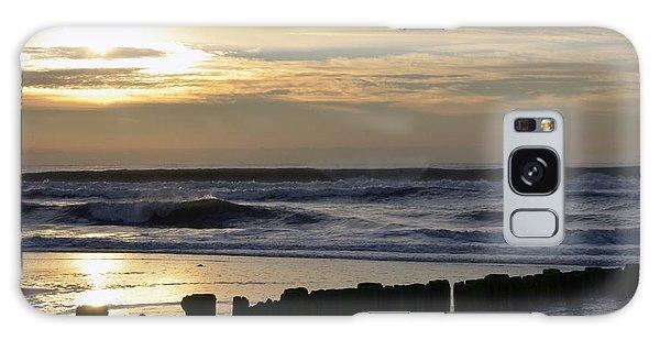 Morning Ocean Rockaway Beach 3 Galaxy Case