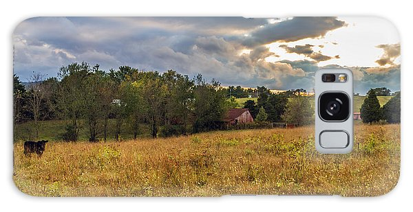 Morning On The Farm One Galaxy Case by Ken Frischkorn