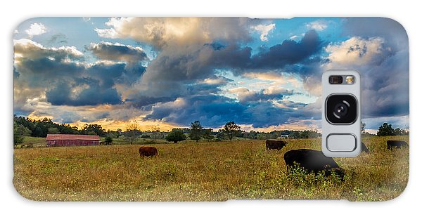 Morning On The Farm Two Galaxy Case by Ken Frischkorn