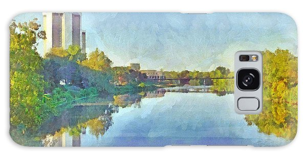 Towers On The Olentangy. The Ohio State University Galaxy Case
