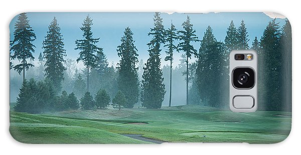 Morning On The Golf Course Galaxy Case