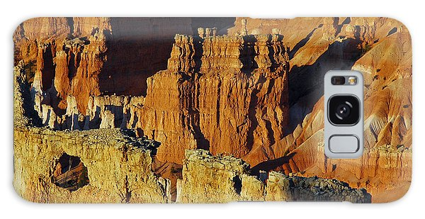 Morning Oranges And Shadows In Bryce Canyon Galaxy Case