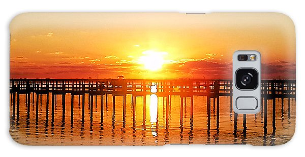 Morning Pier Galaxy Case