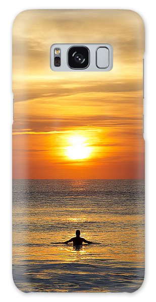 Morning Praise Galaxy Case by Kathy Ponce