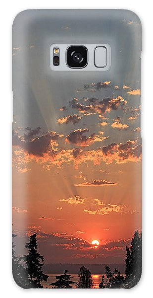 Morning Rays Galaxy Case