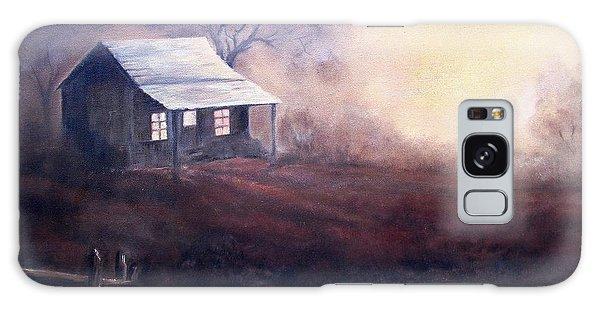 Morning Reflections Galaxy Case by Hazel Holland
