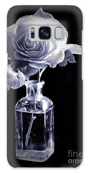 Morning Rose Cyan Galaxy Case
