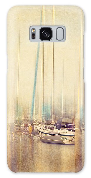 Morning Sail Galaxy Case by Amy Weiss