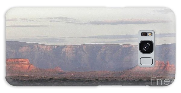 Morning Sedona.... Galaxy Case by George Mount