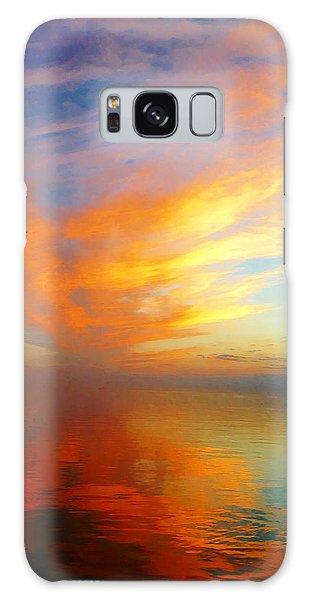 Morning Sky Ocracoke Nc Galaxy Case