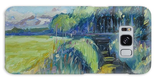 Morning Summer Light Over The Donge River Galaxy Case