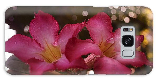 Morning Sunshine And Rain Galaxy Case by Miguel Winterpacht