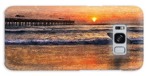 Boynton Galaxy S8 Case - Morning Surf by Debra and Dave Vanderlaan
