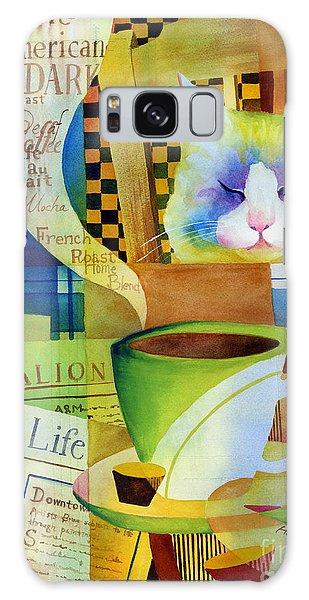 Table Galaxy Case - Morning Table by Hailey E Herrera