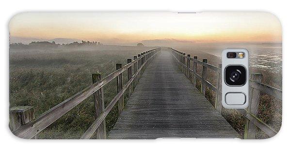 Handrail Galaxy Case - Morning Walk. by Leif L??ndal