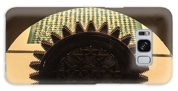 Morocco Door 4 Galaxy Case by Chuck Kuhn