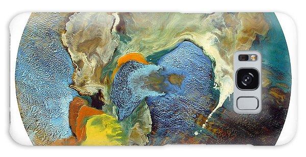 Morphogenesis Of The Blue Wave Particle Galaxy Case by Carolyn Goodridge
