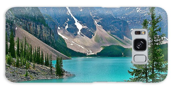 Morraine Lake In Banff Np-alberta Galaxy Case