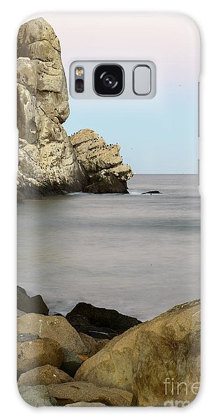 Morro Bay Morning 2 Galaxy Case by Terry Garvin
