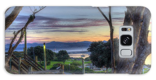 Morro Bay Vista Galaxy Case