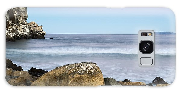 Morro Rock Morning Galaxy Case by Terry Garvin
