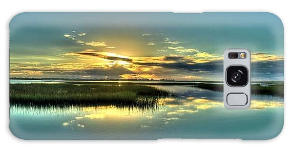 Morse Park Landing Sunrise Galaxy Case by Ed Roberts