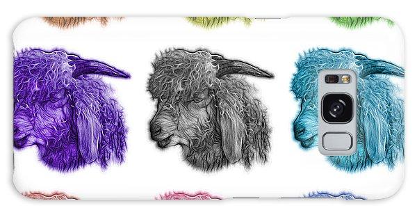 Mosaic Angora Goat - 0073 F - M - Wb Galaxy Case