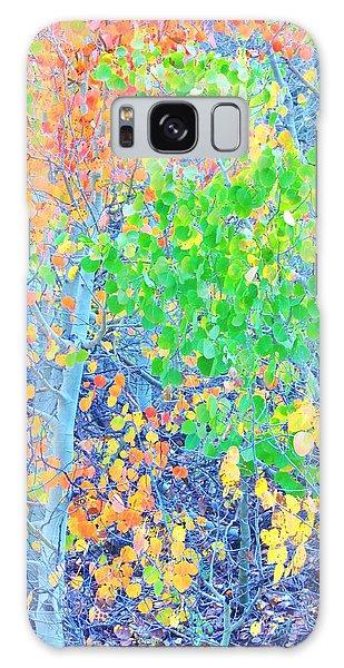 Mosaic Autumn Galaxy Case