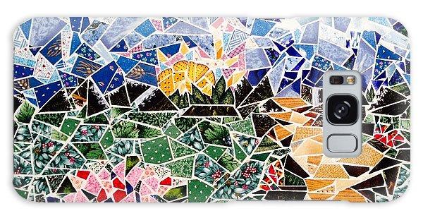 Mosaic Garden Path Galaxy Case