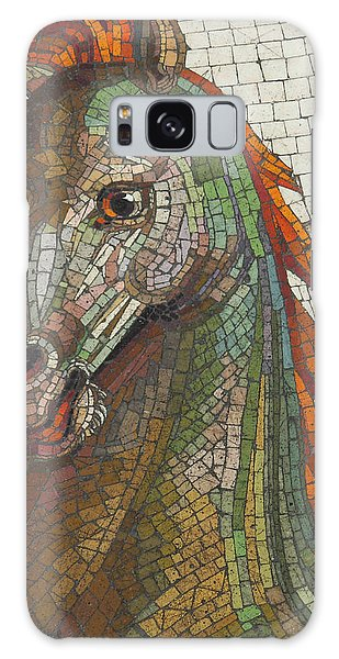 Mosaic Horse Galaxy Case