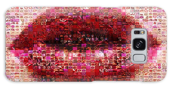 Mosaic Lips Galaxy Case