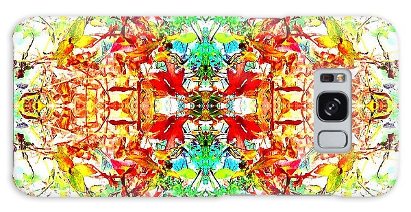 Mosaic Of Spring Abstract Art Photo Galaxy Case