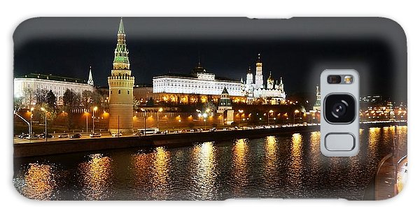 Moscow River Galaxy Case by Julia Ivanovna Willhite