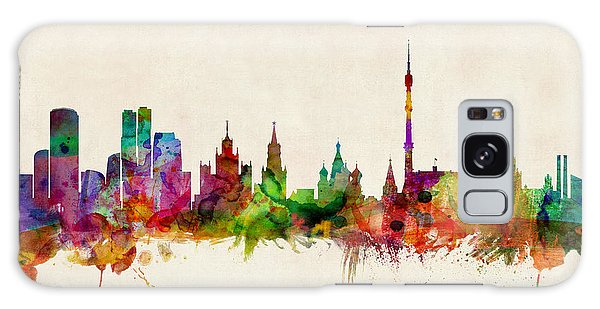 Moscow Skyline Galaxy S8 Case - Moscow Skyline by Michael Tompsett